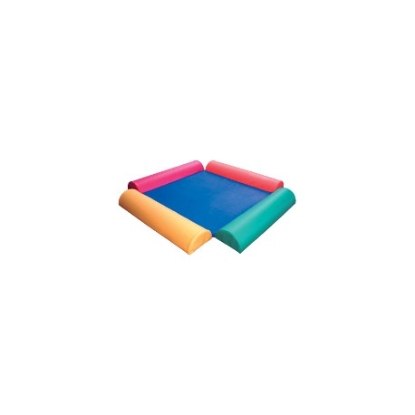 Aire de jeux pour enfants avec demi tuyaux reinerplay for Piscine a boule en mousse