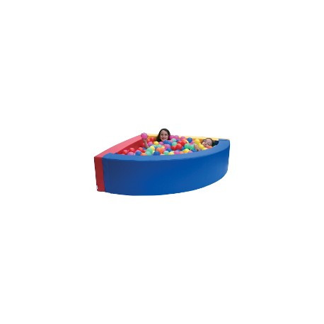 Piscine d 39 angle 200x 200x40x20cm reinerplay for Piscine a boule en mousse