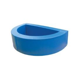Semi circular ball pit