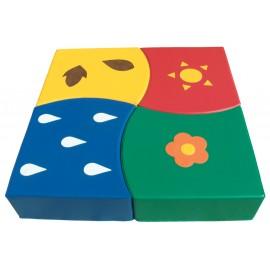 Puzzle 4 estaciones
