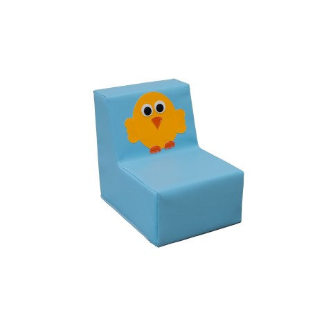 Individual seat yellow bird