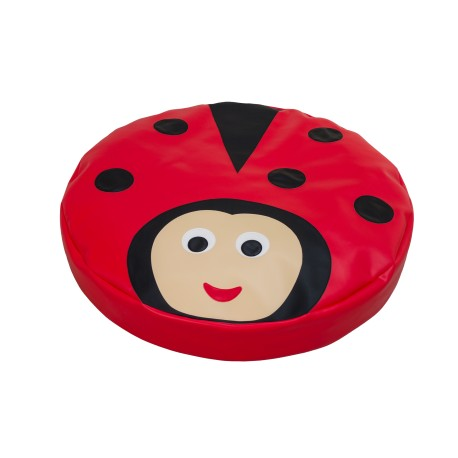 Grand coussin coccinelle reinerplay for Piscine a boule en mousse