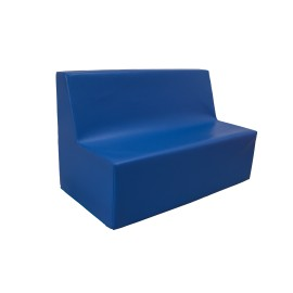 Double straight seat