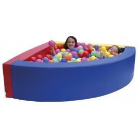 Corner ball pit 130x130x35cm