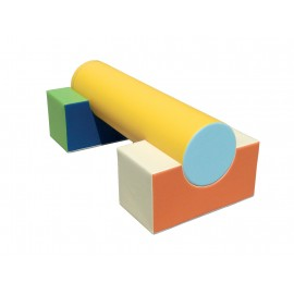 Course with cylinder