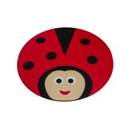 Ladybug mat