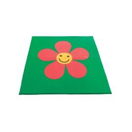 Children play mat: flower 150x150x3cm