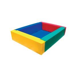 Squared ball pit 180x180x70x20cm