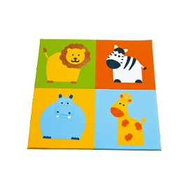 Children play mat: Wild animals