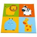 Children play mat: Wild animals