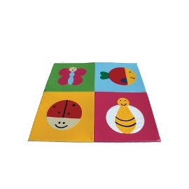 Children play mat: Bugs